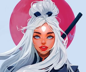 Ilustration, rossdraws, and art image