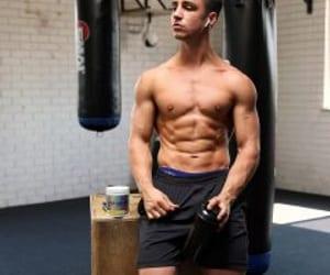 aesthetics, gym, and bodybuilding image