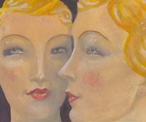 blonde, vintage, and jelenia gora image