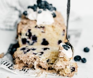 blueberry, breakfast, and brunch image
