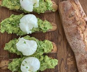 baguette, breakfast, and food image