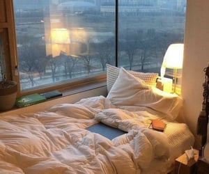 comfy, room decor, and bed image