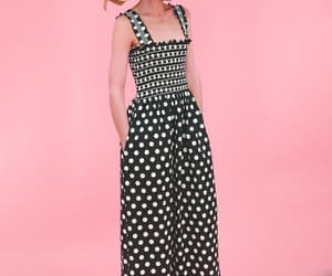 etsy, polka dot dress, and women's dresses image