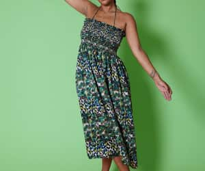 etsy, plus size maxi dress, and easy sewing project image