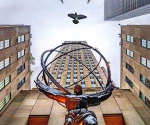 new york and rockfeller plaza image