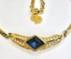designer jewelry, Christian Dior, and etsy image