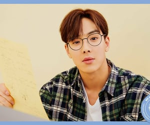 glasses, shownu, and concept image