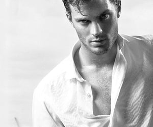 actor, Hot, and Jamie Dornan image