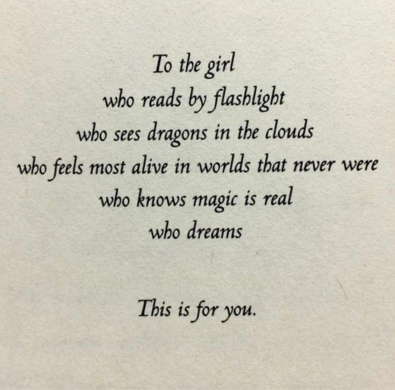 Dream, girl, and magic image