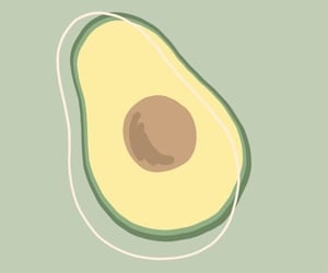 avocado, green, and iphone image