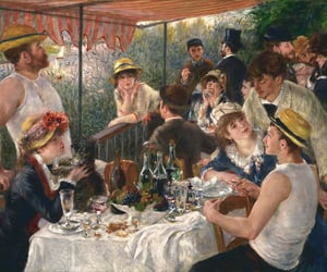 painting, Renoir, and impresionism image