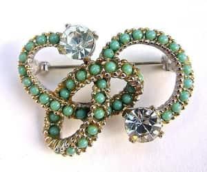 etsy, rhinestones, and turquoise beads image