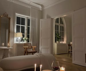 art deco, living room, and candles image