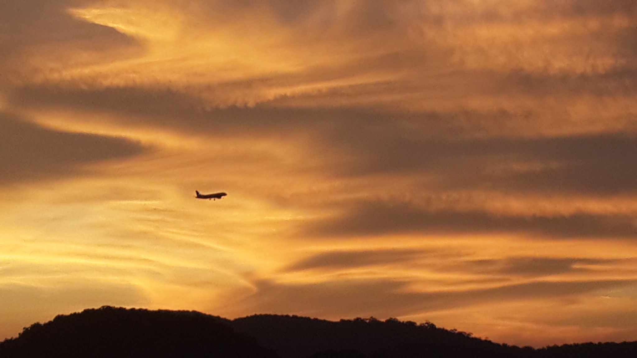 airplane, asthetic, and landscape image