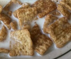 breakfast, Cinnamon, and milk image