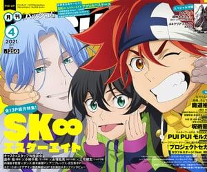 anime, kawaii, and langa hasegawa image