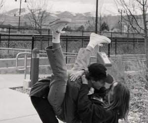boyfriend, kiss, and girlfriend image