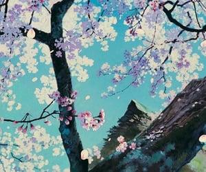 sakura, anime, and studio ghibli image