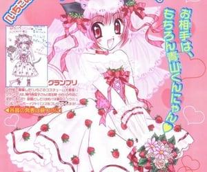 anime, pink, and ichigo momomiya image