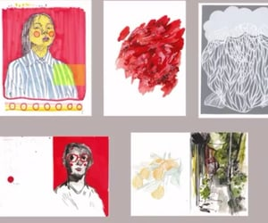 art, draw, and artsy image