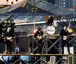 beatles, concert, and ringo star image