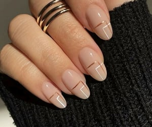 aesthetic, nail art, and varnish image