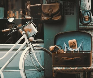vintage, bike, and old image