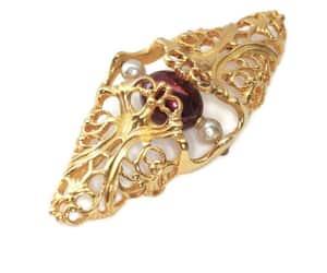 art nouveau jewelry image