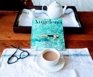 losangeles, magazine, and tea image