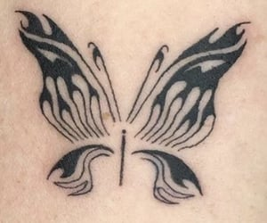 archive, butterfly, and tattoo image