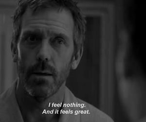 black and white, tv show, and dr house image