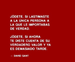 frases, quotes, and red image