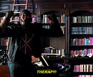 Brendan Fraser, dc comics, and therapy patrol image