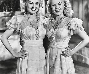june haver, Betty Grable, and old hollywood image