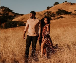 brown, vacation, and black love image