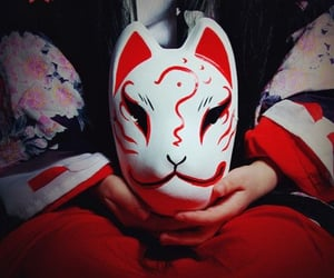 aesthetic, mask, and culture image