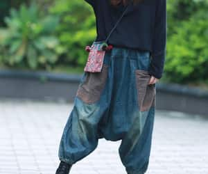 loose pants, oversized pants, and etsy image