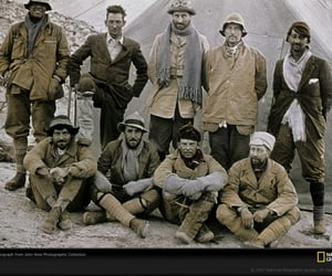 1924, everest, and expedition team image
