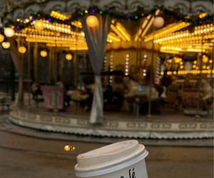 amusement, carousel, and france image