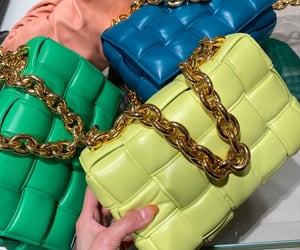 bottega, bags, and chain image