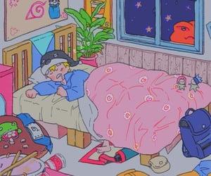 naruto, anime, and sleep image