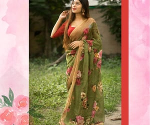 onlineshopping, floralsaree, and sale image
