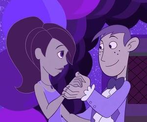 cartoon, couple, and dance image