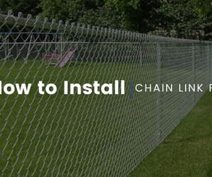fence company in india, chain link fence, and chain links fence image