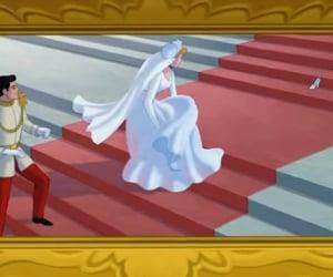 cinderella, married, and wedding image