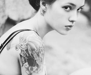 tattoo, ira chernova, and girl image