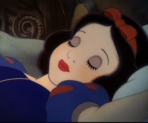 girl, snow white, and disney image