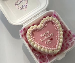 cakes, food, and pink image