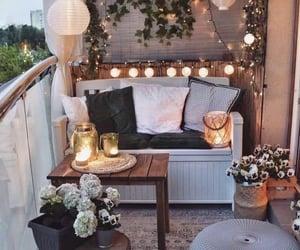 balcony, decor, and house image