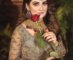 beautiful, bridal, and style image